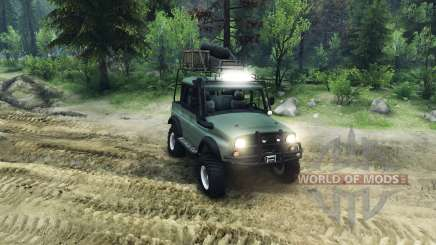 UAZ-G for Spin Tires