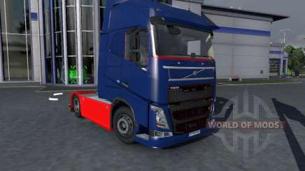 Volvo FH16 Tucker Tuned for Euro Truck Simulator 2