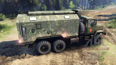 KrAZ-260 and KrAZ-63221 truck (SKVO CENTURIES) for Spin Tires