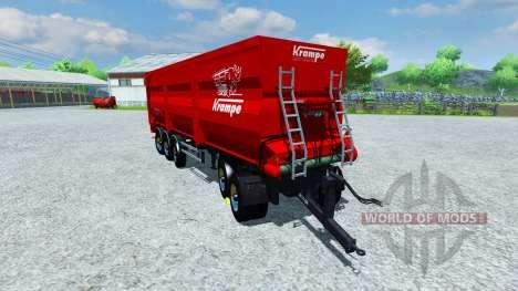 Krampe Bandit SB30 for Farming Simulator 2013