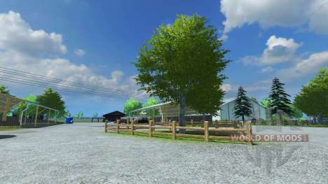 Reconstruction of the farm v9 for Farming Simulator 2013