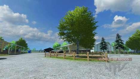 Reconstruction of the farm v9 for Farming Simulator 2013