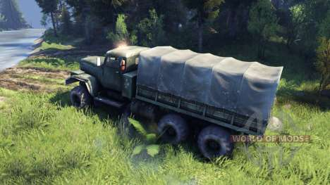 New sound engine KrAZ-255 for Spin Tires