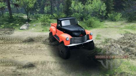 Chevrolet 3100 Pickup UMT 1951 for Spin Tires