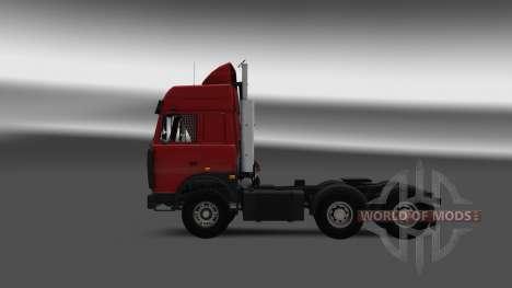 MAZ 5432 v4.0 for Euro Truck Simulator 2