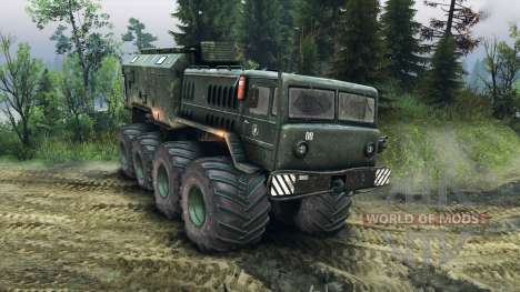 MAZ-535 Monster for Spin Tires