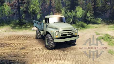 ZIL-130 v1.02 for Spin Tires