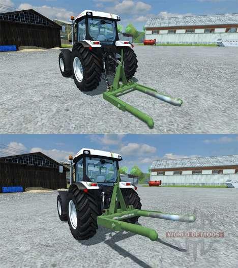 Music-Menges Bale Lifter for Farming Simulator 2013
