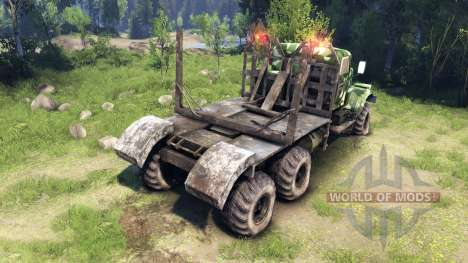 KrAZ-255 camo v1 for Spin Tires