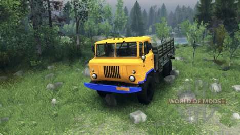 A new color for GAZ-66 for Spin Tires
