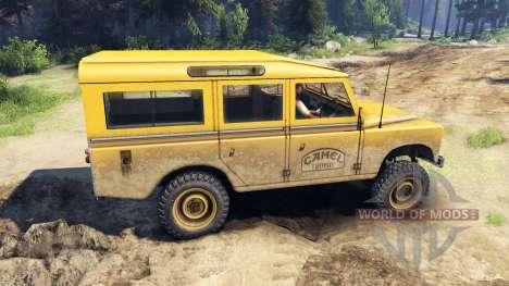 Land Rover Defender Camel Trophy for Spin Tires