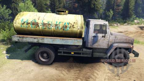 GAZ-3309 v1.1 for Spin Tires
