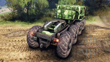 MAZ-535 camo v1 for Spin Tires