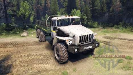 Ural-4320-0911-30 v2.0 for Spin Tires