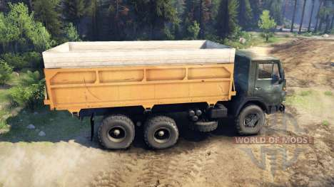 KamAZ-55102 v3.0 for Spin Tires