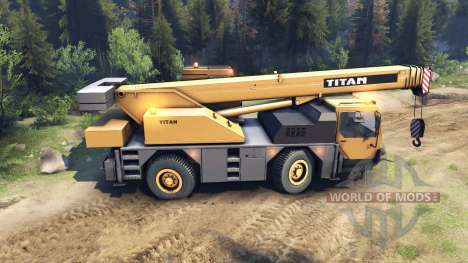 Liebherr LTM 1030 for Spin Tires