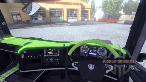 Interior for Scania-Acid- for Euro Truck Simulator 2