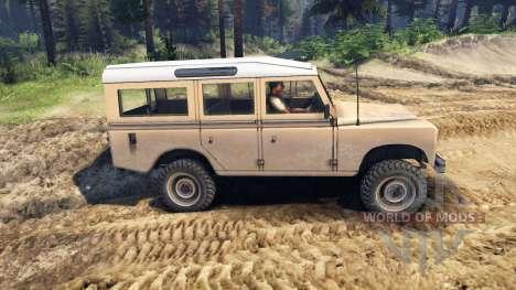 Land Rover Defender Sand for Spin Tires