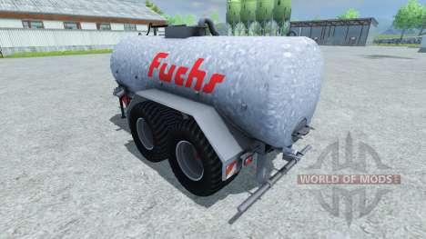 Fox tanker 18500l for Farming Simulator 2013