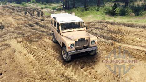 Land Rover Defender Sand for Spin Tires