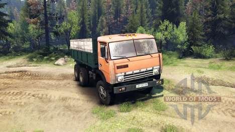 KamAZ-55102 v2.0 for Spin Tires