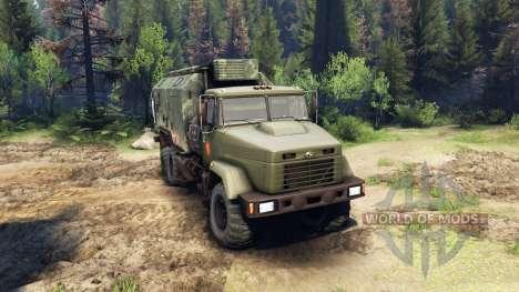 KrAZ-260 and KrAZ-63221 truck (SKVO CENTURIES) for Spin Tires
