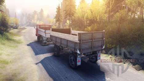Trailer IFA for Spin Tires