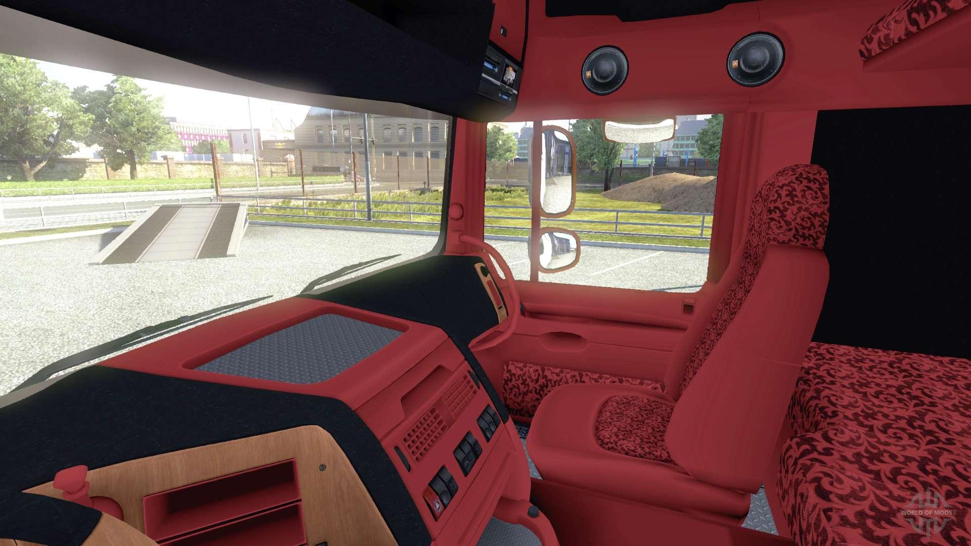 Innenraum  DAF Trucks Deutschland