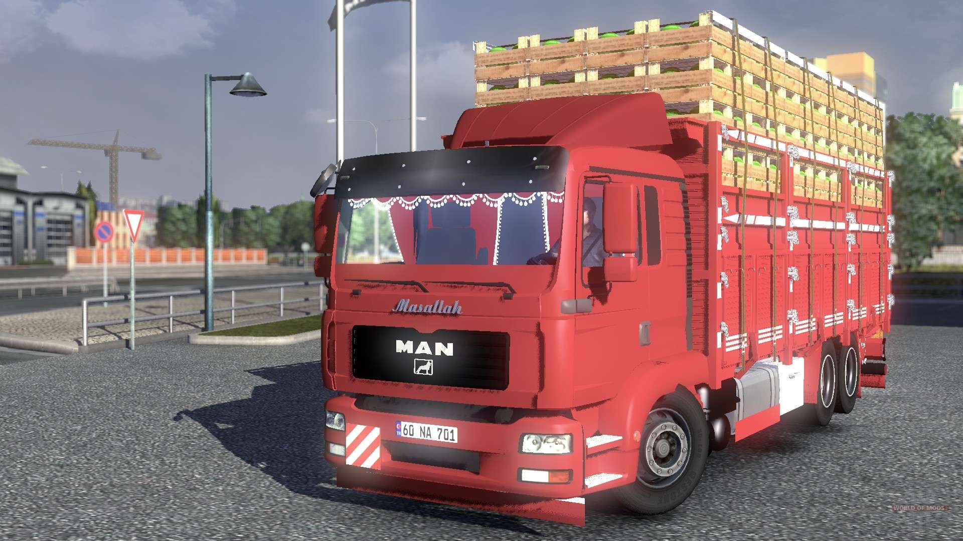 man tgl camion for euro truck simulator 2. Black Bedroom Furniture Sets. Home Design Ideas