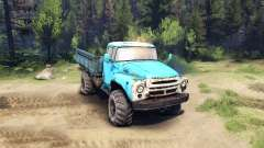 ZIL-130 4x4 for Spin Tires