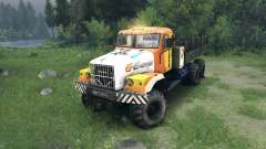 KrAZ-255 in a new color