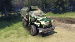 Ural-4320 camo v4 for Spin Tires
