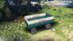 Trailer KAMAZ v1 for Spin Tires