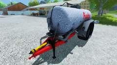 Fox tanker 18500l