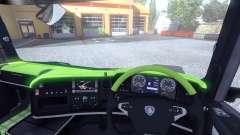 Interior for Scania-Acid-