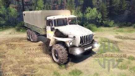 Ural-4320-0911-30 for Spin Tires