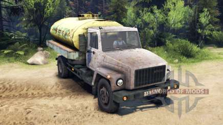 GAZ-3309 v1.1 for Spin Tires