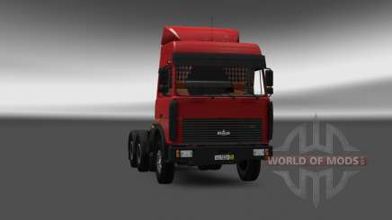 MAZ 5432 v4.0 for Euro Truck Simulator 2