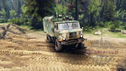 GAZ-66 kung for Spin Tires