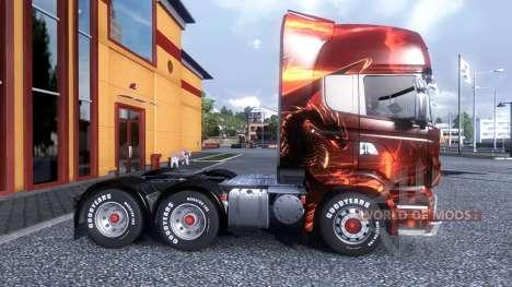 Color-Dragon - truck Scania for Euro Truck Simulator 2