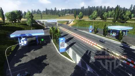 Petrol station Aral for Euro Truck Simulator 2