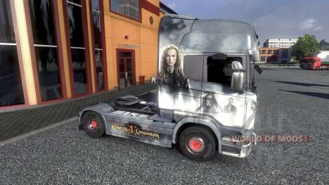 Color-Pirates of the Caribbean - on tractor Scan for Euro Truck Simulator 2