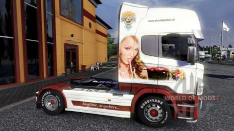 Color-Them - on a tractor unit Scania for Euro Truck Simulator 2
