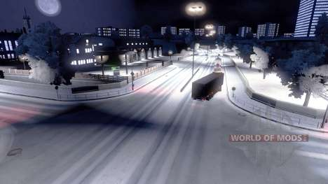 Full winter for Euro Truck Simulator 2