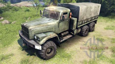 New textures for the wheels KrAZ-255 for Spin Tires