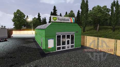 BP PETROL STATION for Euro Truck Simulator 2