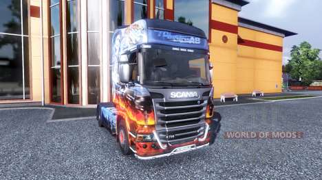 Color-Smokey and the Bandit - truck Scania for Euro Truck Simulator 2