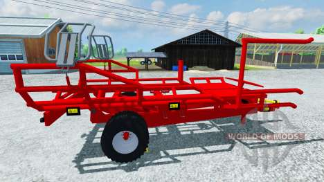 The pick-up Arcusin round bale RB Autostack for Farming Simulator 2013