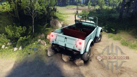 GAZ-69A RAM for Spin Tires