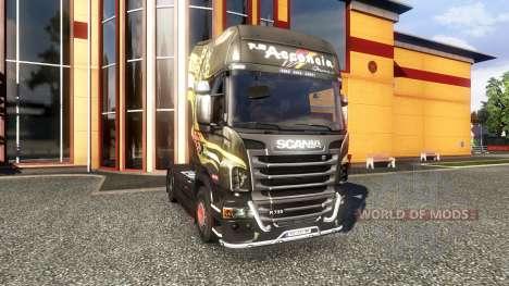 Color-R730 F.lli Acconcia - truck Scania for Euro Truck Simulator 2